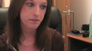 show torride d'un couple devant une webcam