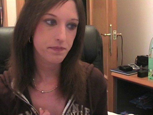 show torride d'un couple devant une webcam